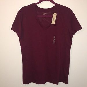 NEW W/ TAGS Basic Maroon T-Shirt
